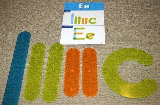 Light Table, Letter Construction Set
