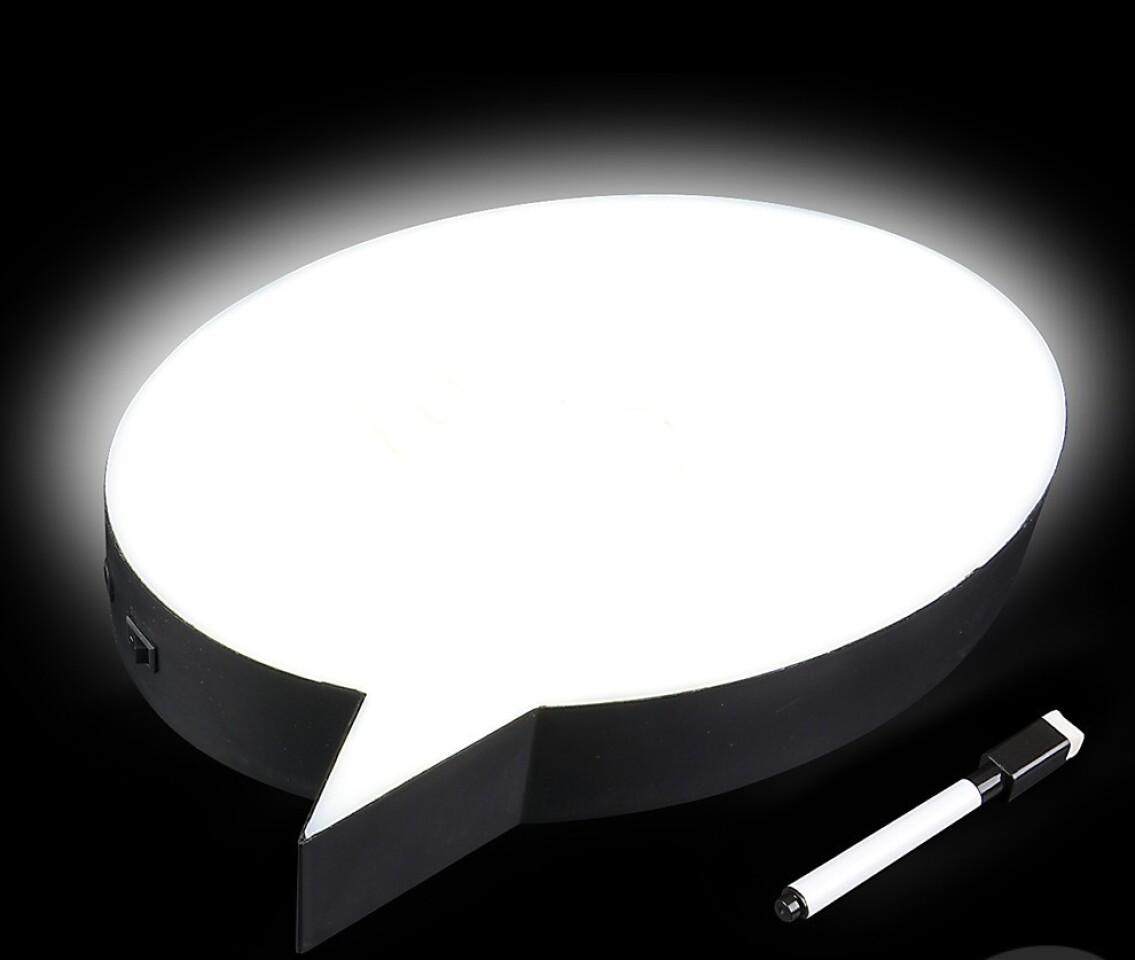 Light-Up Speech Bubble