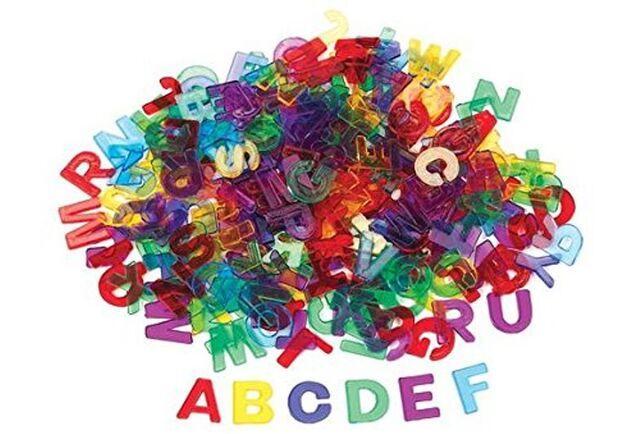 Sensory Rainbow Letters
