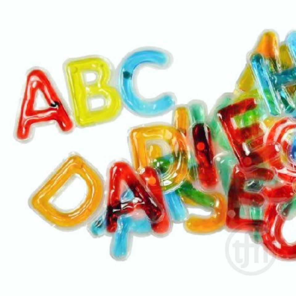 Light Learning Gel and Squish Uppercase Letter Set