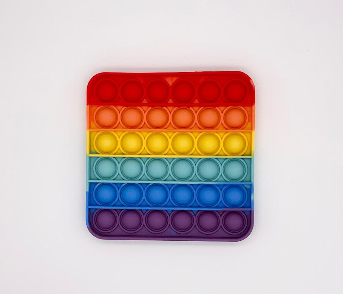 Square Rainbow - Pop Fidget Toy