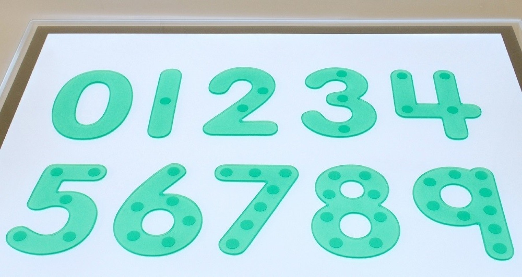 Silishapes® Dot Numbers