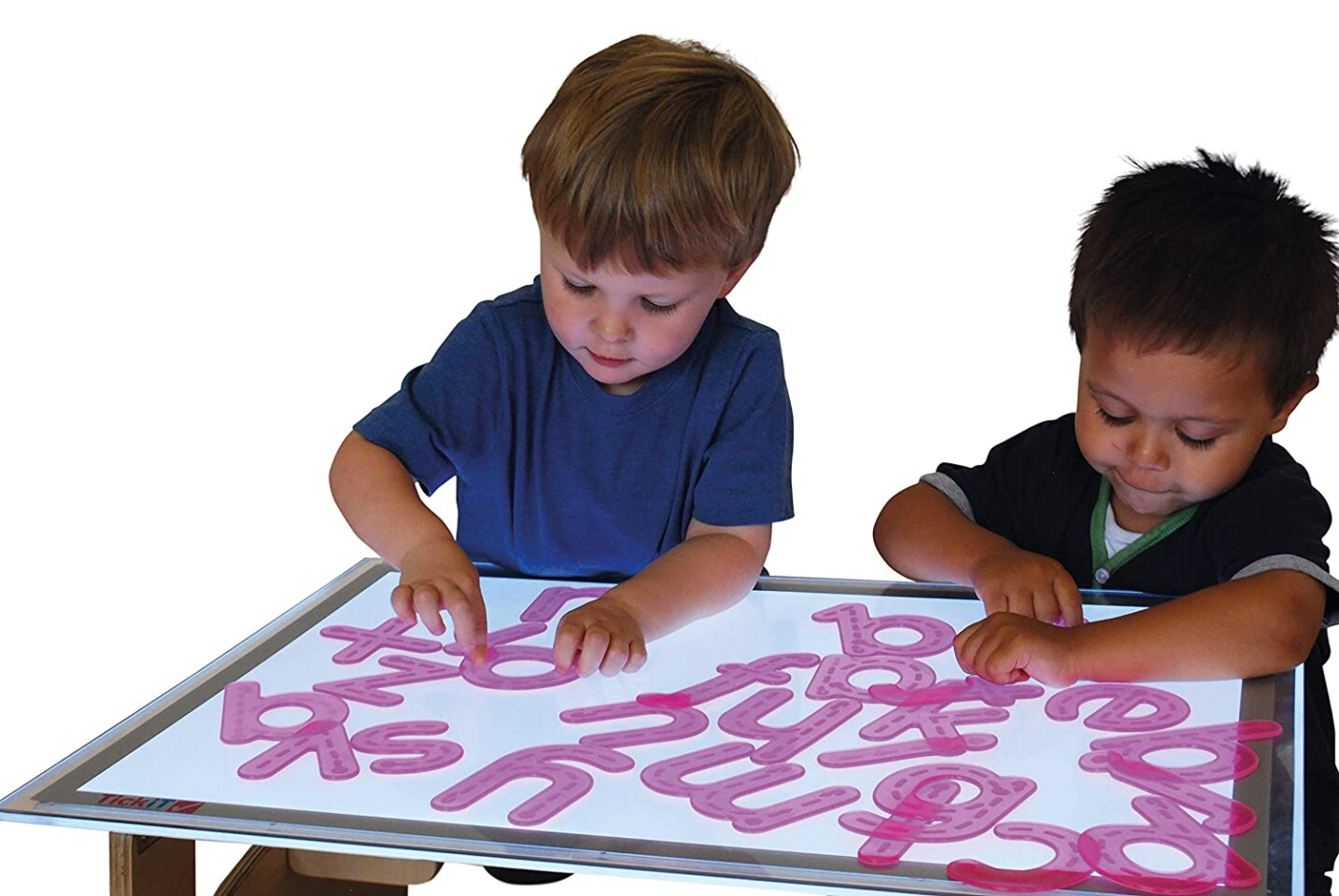 Silishapes Trace Alphabet - See Through Learning Letters
