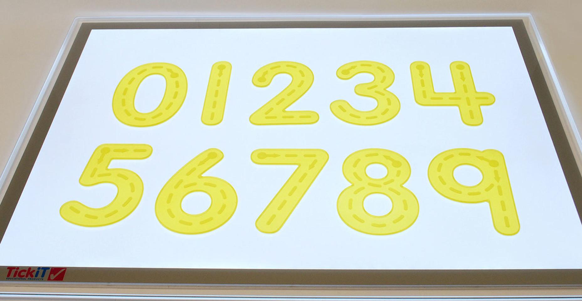 Silishapes® Trace Numbers