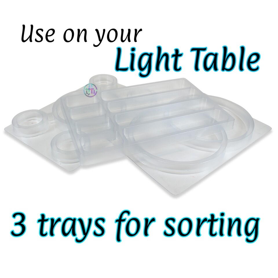 See Through Sorting Trays