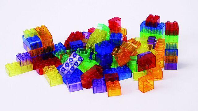 Light Table Translucent Blocks