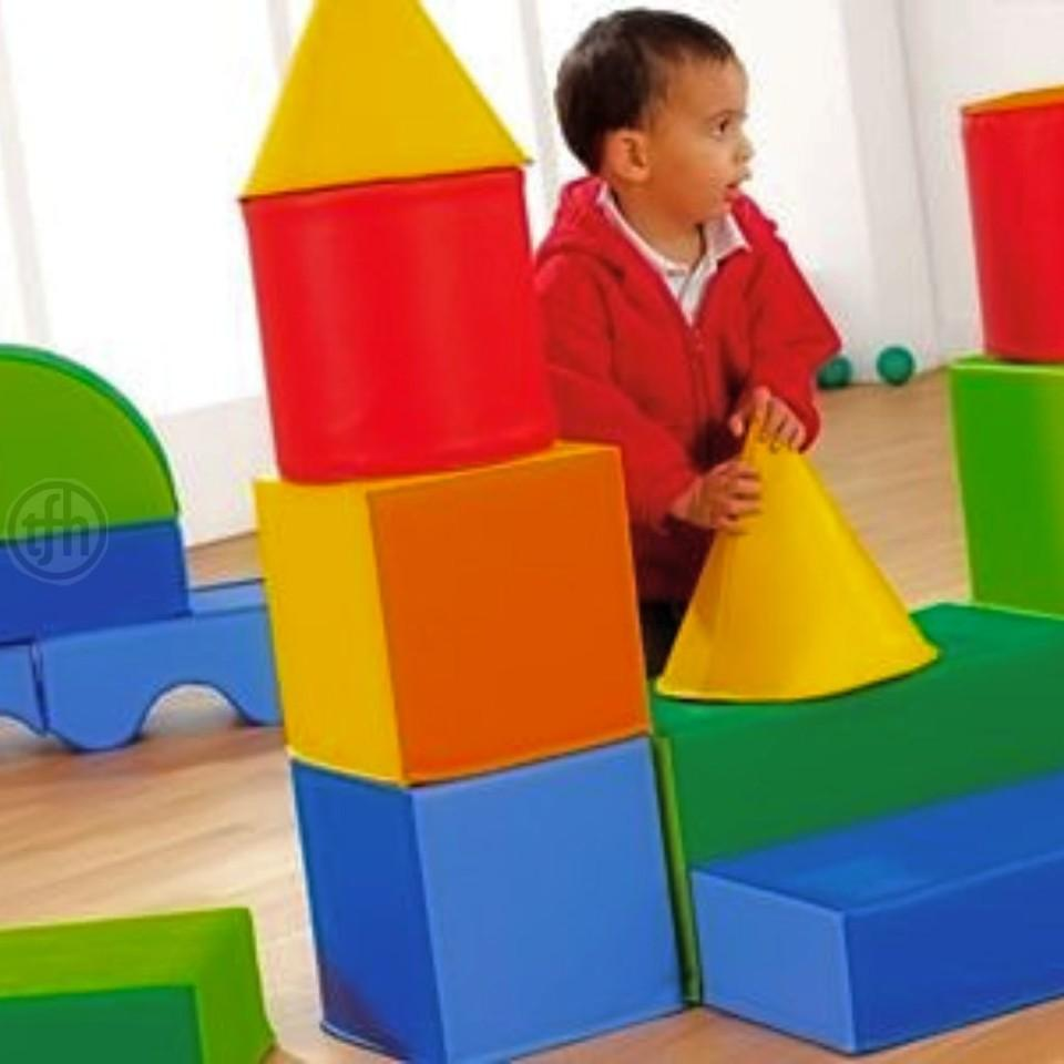 Soft Play, Foam Building Blocks