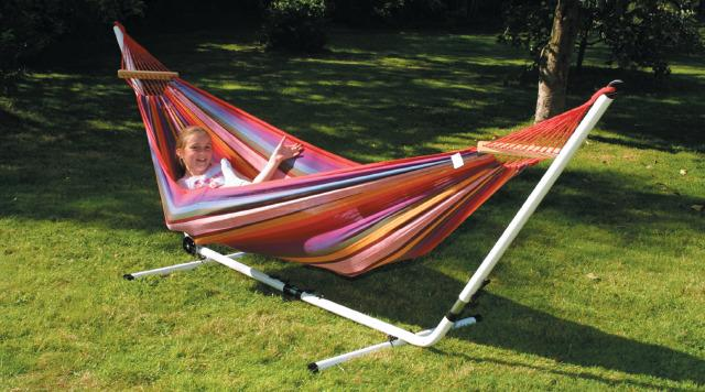Traditional Hammock and Stand