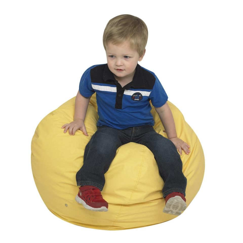 "26"" Foam Filled Bean Bag - Yellow"
