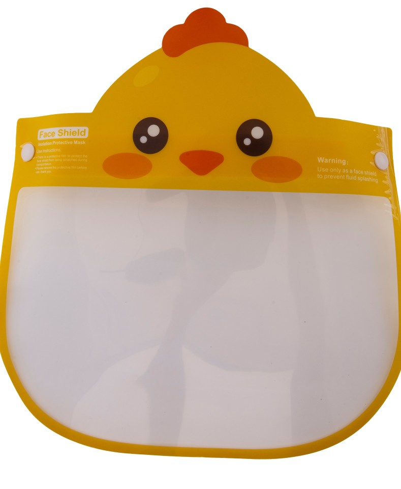 Face Shield for Kids - Frog