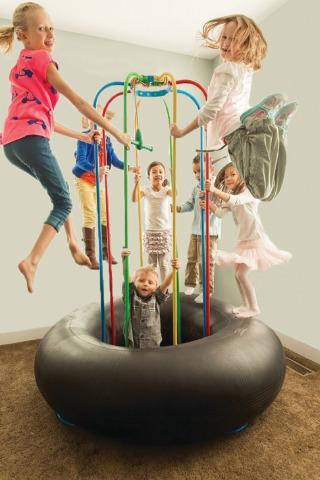 Jungle Jumparoo Trampoline