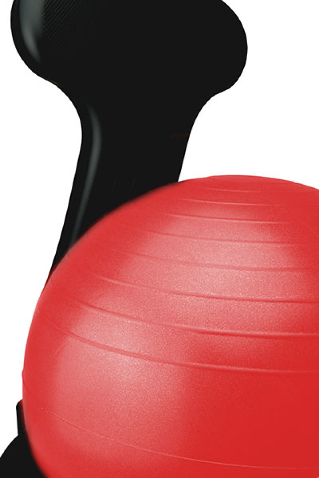Ball Chair Large - Red Ball