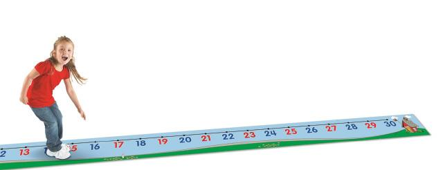Number Line Floor Mat-LIMITED SUPPLY