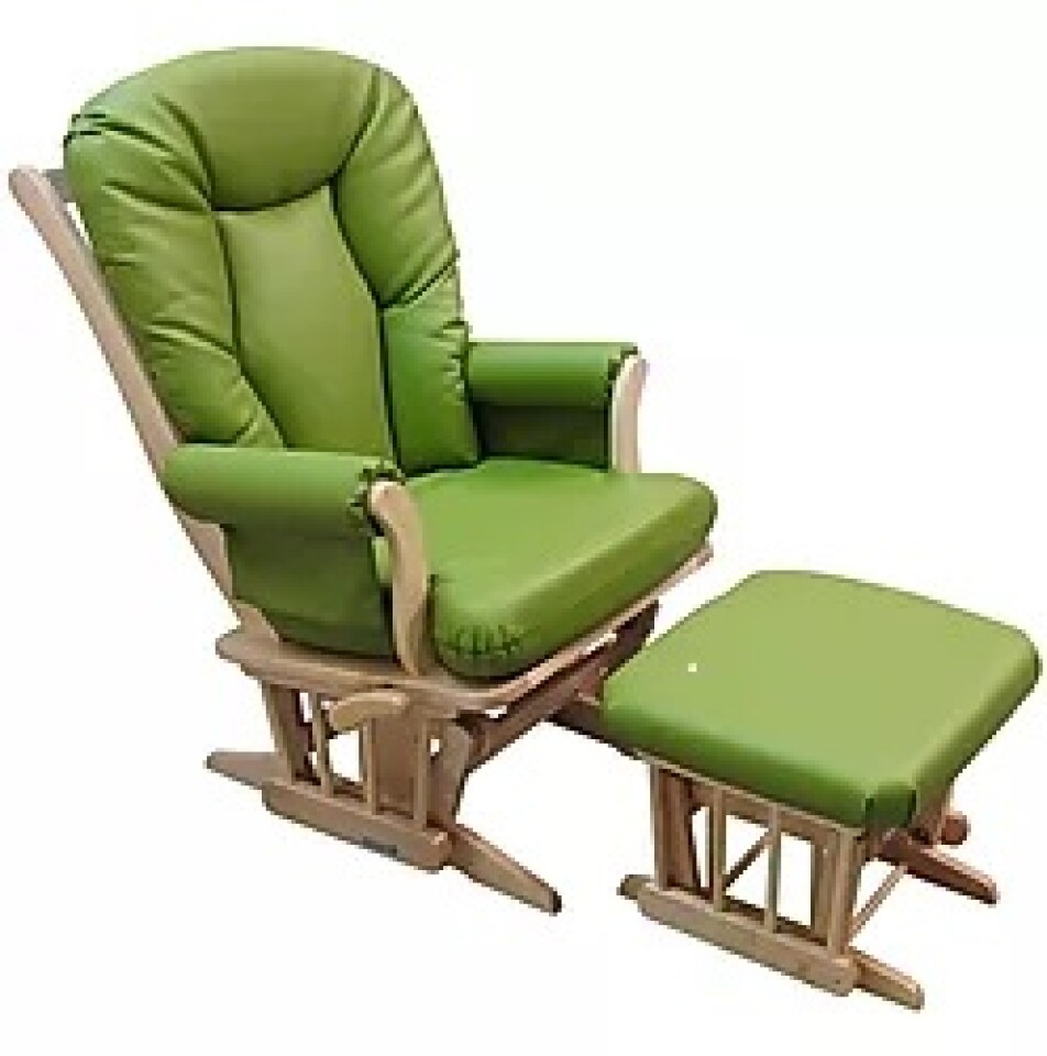 Trone Gungstol PU Grön