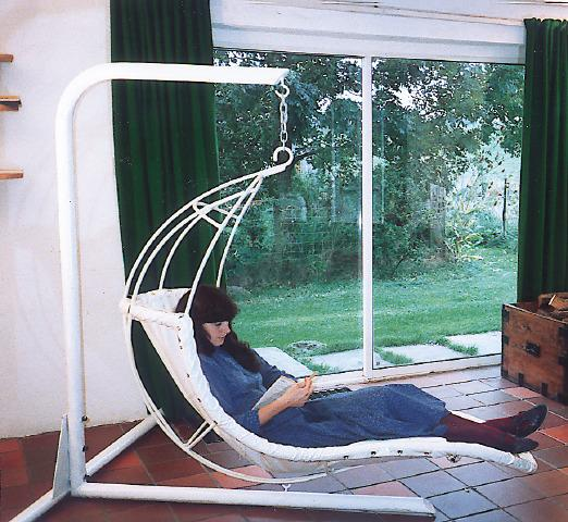Leaf Chair, Sway Banana Seat