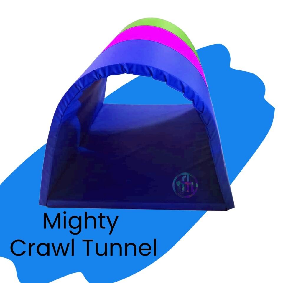 Mighty Crawl Through Tunnel