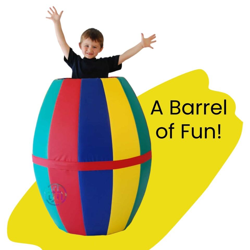 Mighty Rocking Barrel