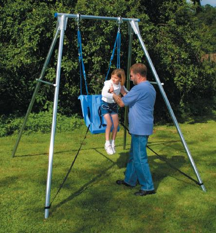 Swing Seat Retention Straps - For Single Swing Frames