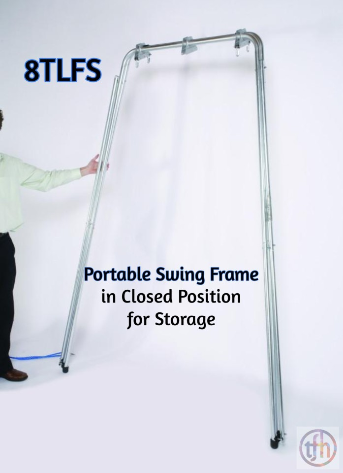 Easy-Up Portable Swing Frame