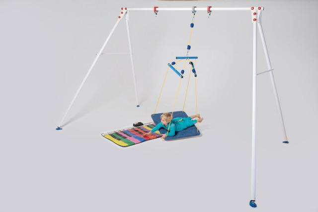 Indoor Double Swing Frame