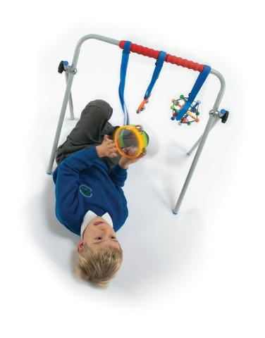 Versatile Activity Arch For Aiding Gross Motor Skills