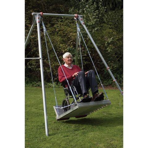 Wheelchair Suitable Swing Frame