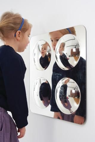Set 4 Acrylic Mirror - Mirror Sensory Toy