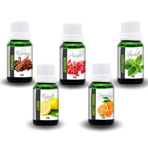 Alerting Aromatherapy Oil Kit