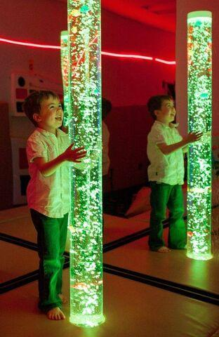 Interactive, Colour Changing, Water Bubble Columns in 3 Sizes