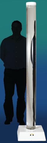 Bubbelrör H:2m Ø:15cm