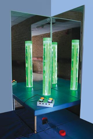 Bubble Column Podium For Sensory Rooms