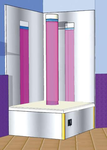 Bubble Column Podium