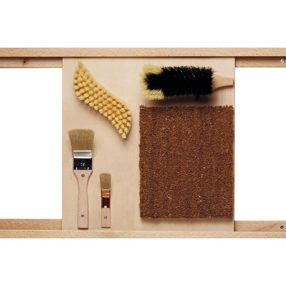 Bristle Brushes Sensory Wall Activity Panel