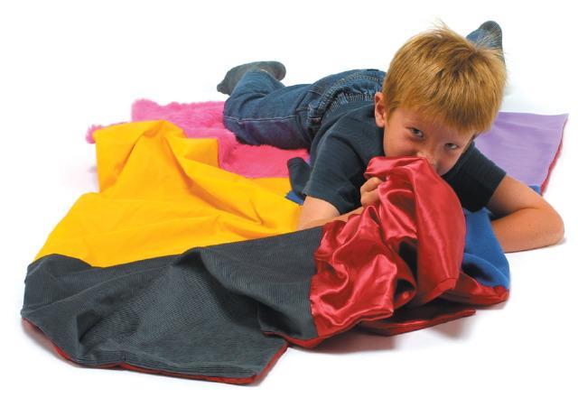 Crunchy Tactile Blanket