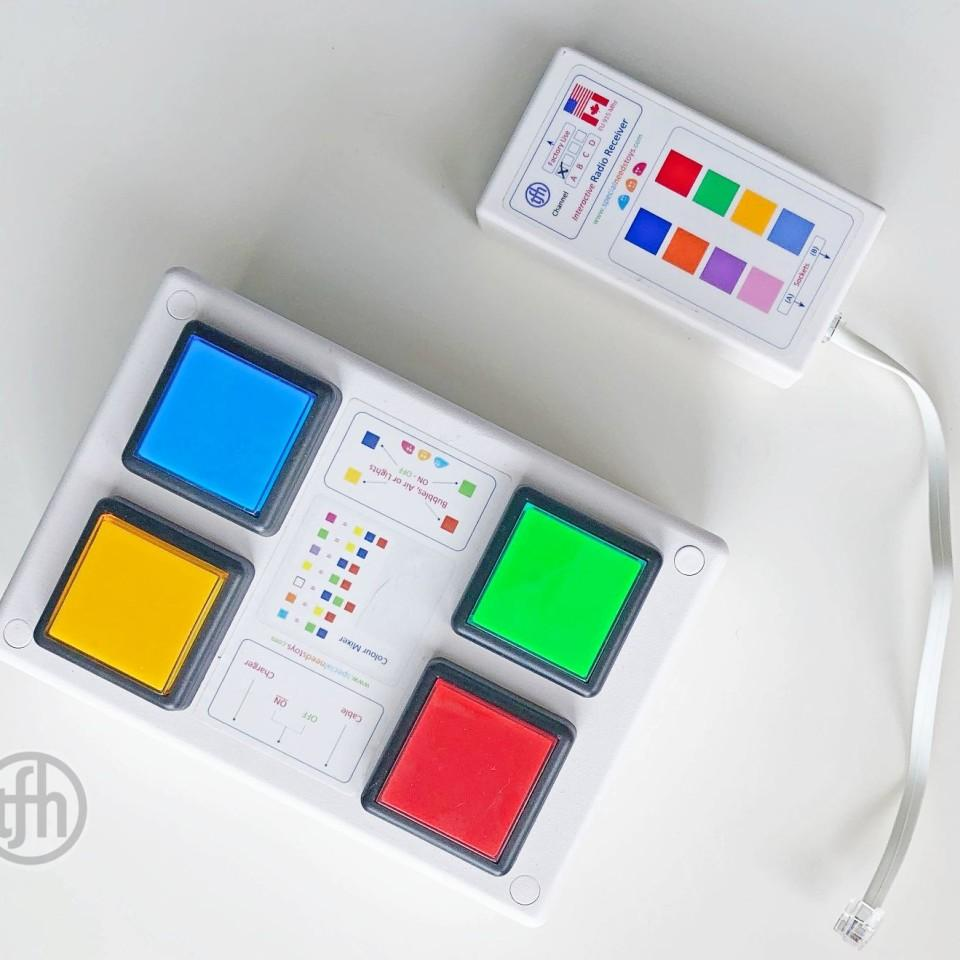 4 Button Wireless Color Controller