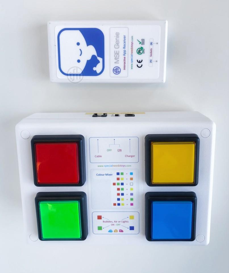 Wireless, Colour Control - 4 button Box