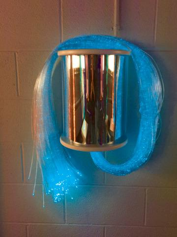 Fibre Optic, Light Source Wall Sconce