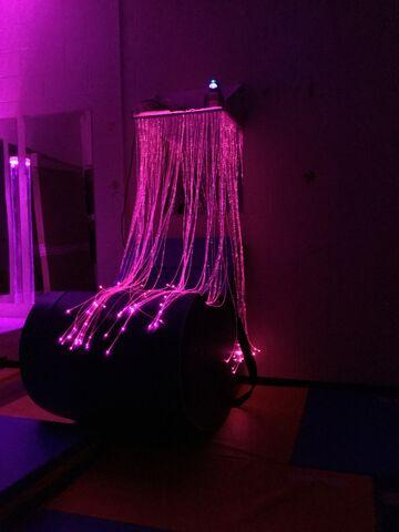 Fibre Optic Waterfall