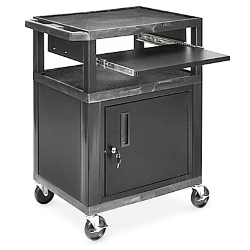 Locking Cabinet Activity Cart