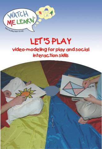 Educational Let's Play DVD, Teaching Language, Social and Function Skills