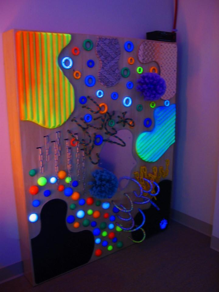 UV Textured Wall