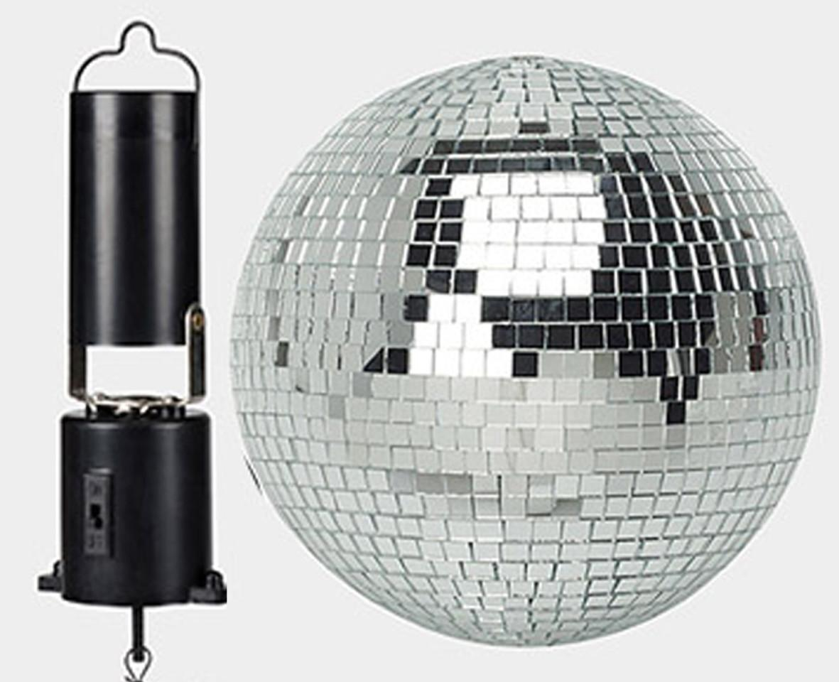 Battery Operated Mirror Ball