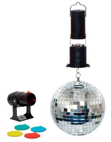 Mini Mirror Ball Set - Disco Toy