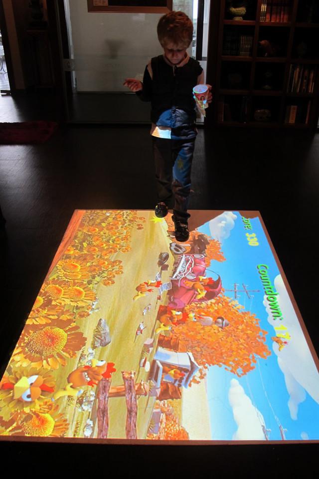 MotionLearn Portable Interactive Floor