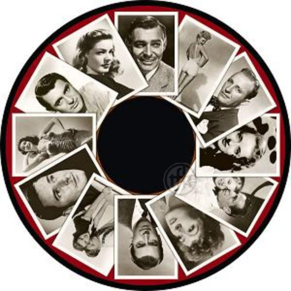 Projector Effects Wheel, Film Stars of the 1940s