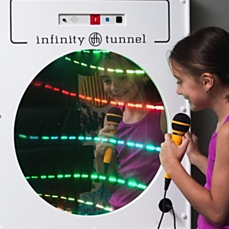 Wall Panel, Interactive Infinity Tunnel