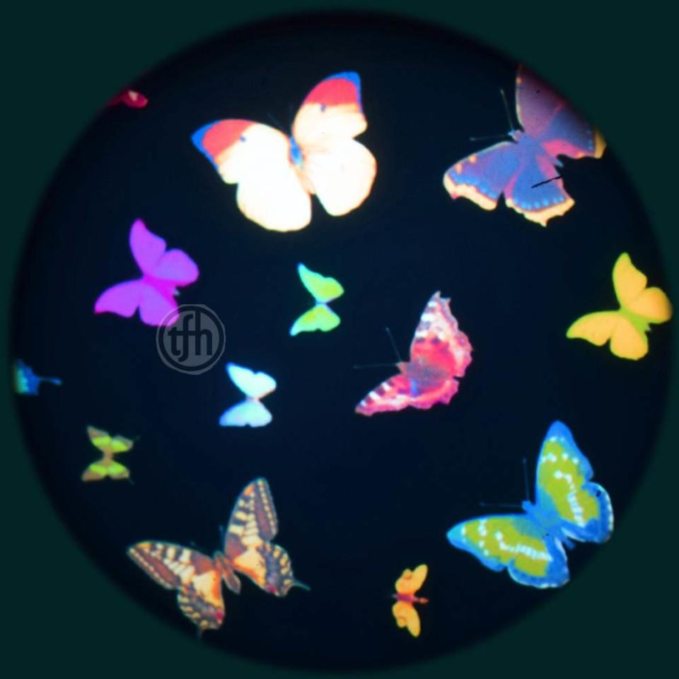 Projection Effects Wheel - Butterfly Kaleidoscope