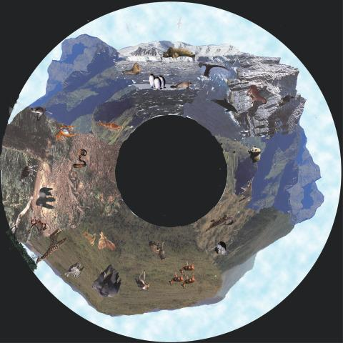 Solar Projector Effects Wheels- Style: Wilderness