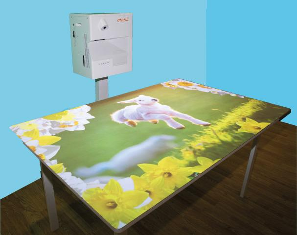 Omi Vista Tabletop & Floor Mobile