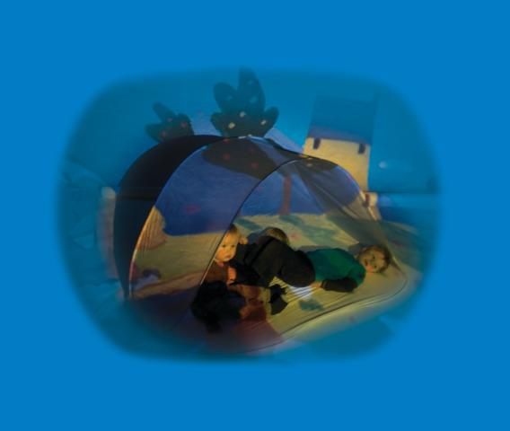 Projection Accessory, Soft Pop-Up Bubble Cave